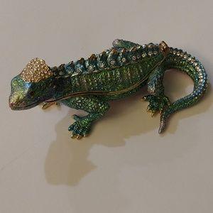Lizard trinket box